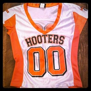 Official Hooters uniform game night jersey top